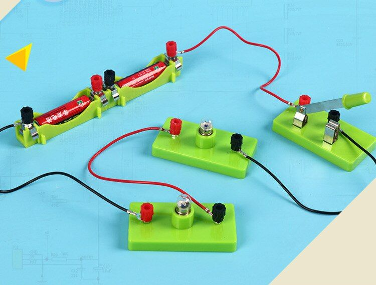 Kids Science Toy Basic Circuit Electricity Learning ...