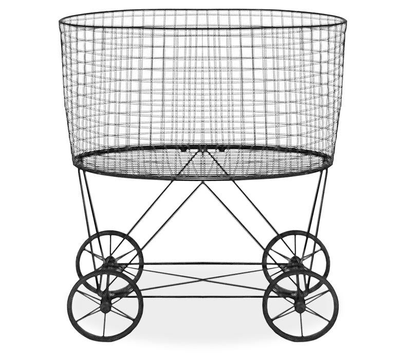 vintage laundry basket vintage metal laundry basket with wheels shipping by mail is not