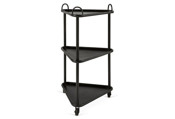 Pin for Later: 40+ Bar Carts That Will Make Your Boozy Dreams Come True  BoBo Intriguing Objects Samuel Triangular Bar Cart ($239)