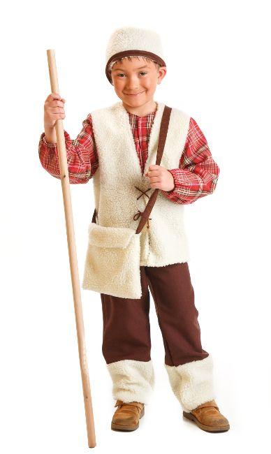Disfraz De Pastor Para Niño Por 18 00 Disfraz De Pastora Disfraces Para Niños Disfraz