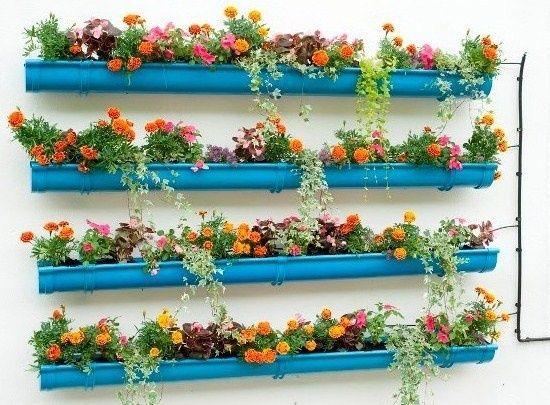 recyclez vos goutti res en zinc en jardini res goutti re jardini res et bac. Black Bedroom Furniture Sets. Home Design Ideas