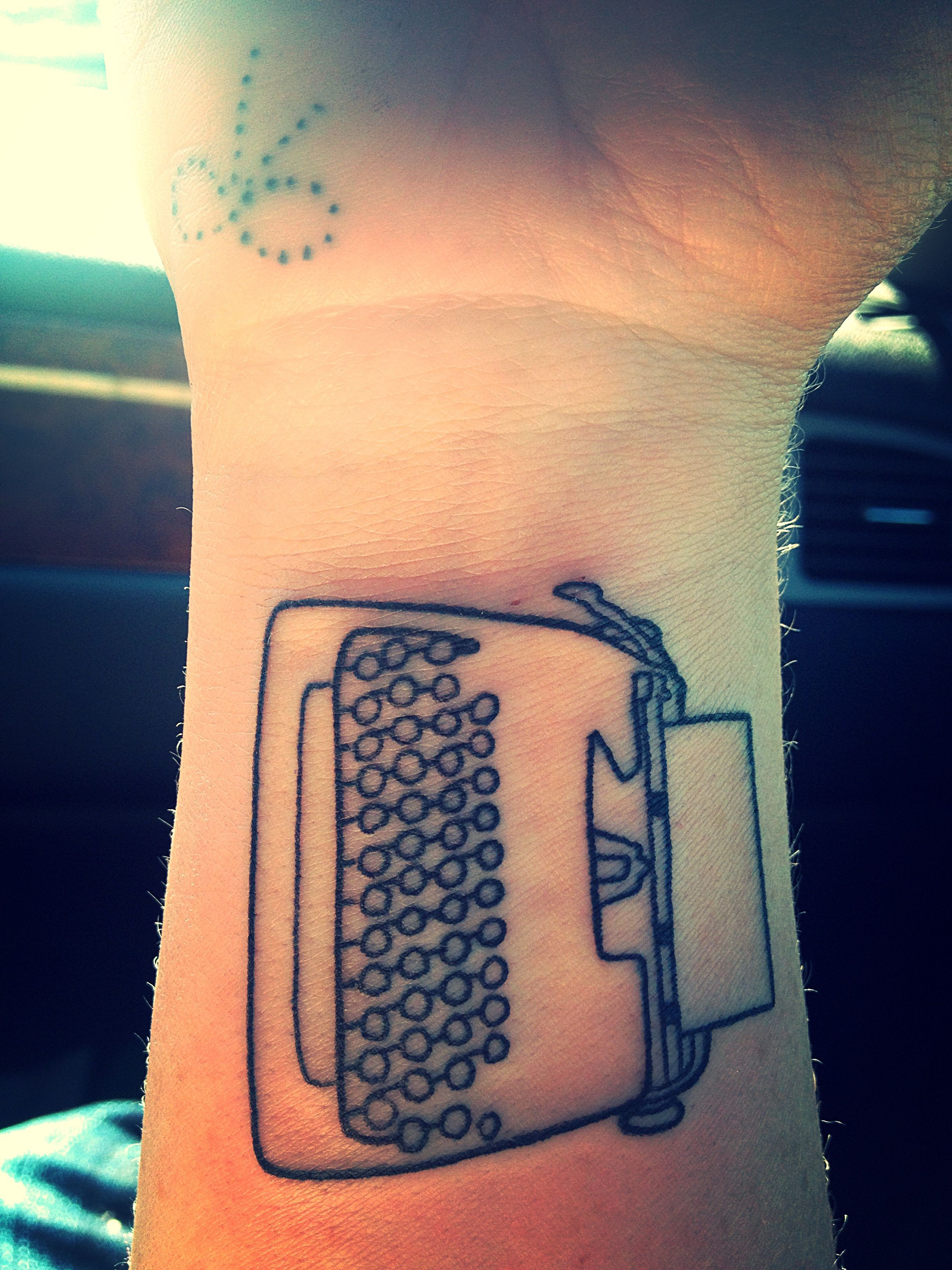 Vintage Typewriter Tattoo