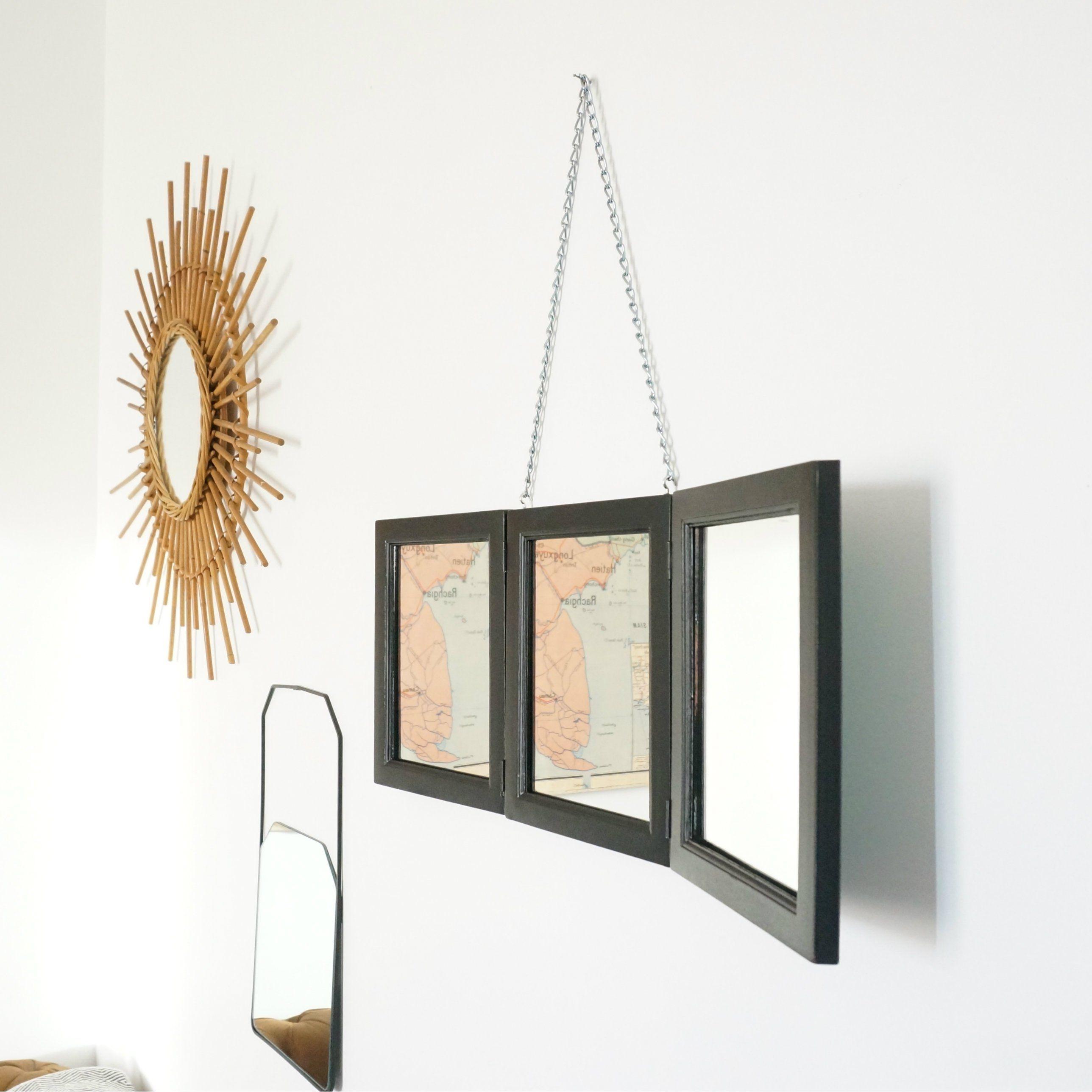 D.I.Y: Réaliser un miroir triptyque de barbier pour 20 euros ...
