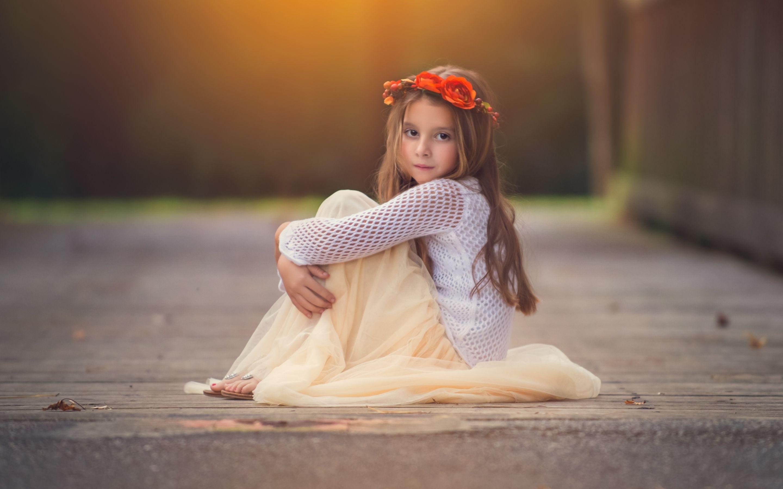 Cute Baby Girl HD Wallpaper
