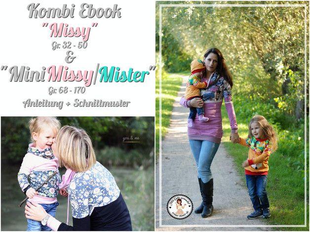 Nähanleitungen Mode - Kombi Ebook Mini Missy/Mister + Missy - ein Designerstück von Kristina1907 bei DaWanda