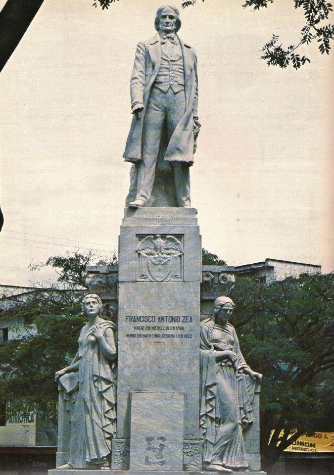 Marco Tobon Mejia MONUMENTO A FRANCISCO ANTONIO ZEA. Mármol. 1930 ...