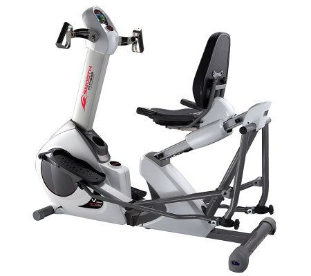 Scn Products Hybrid Elliptical Stepper Exercisebike Qvc Com Biking Workout Body Trainer Elliptical Workout