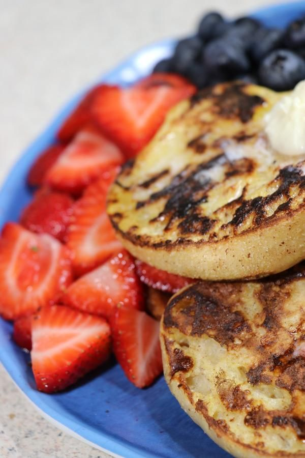 Cinnamon Sugar English Muffins French Toast Recipe   Food ...