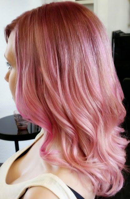 Dirty Pink Hair
