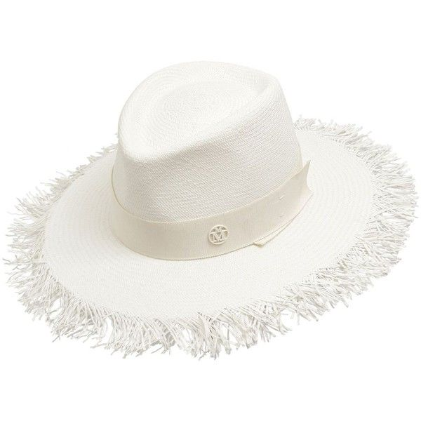 panama hat - White Maison Michel