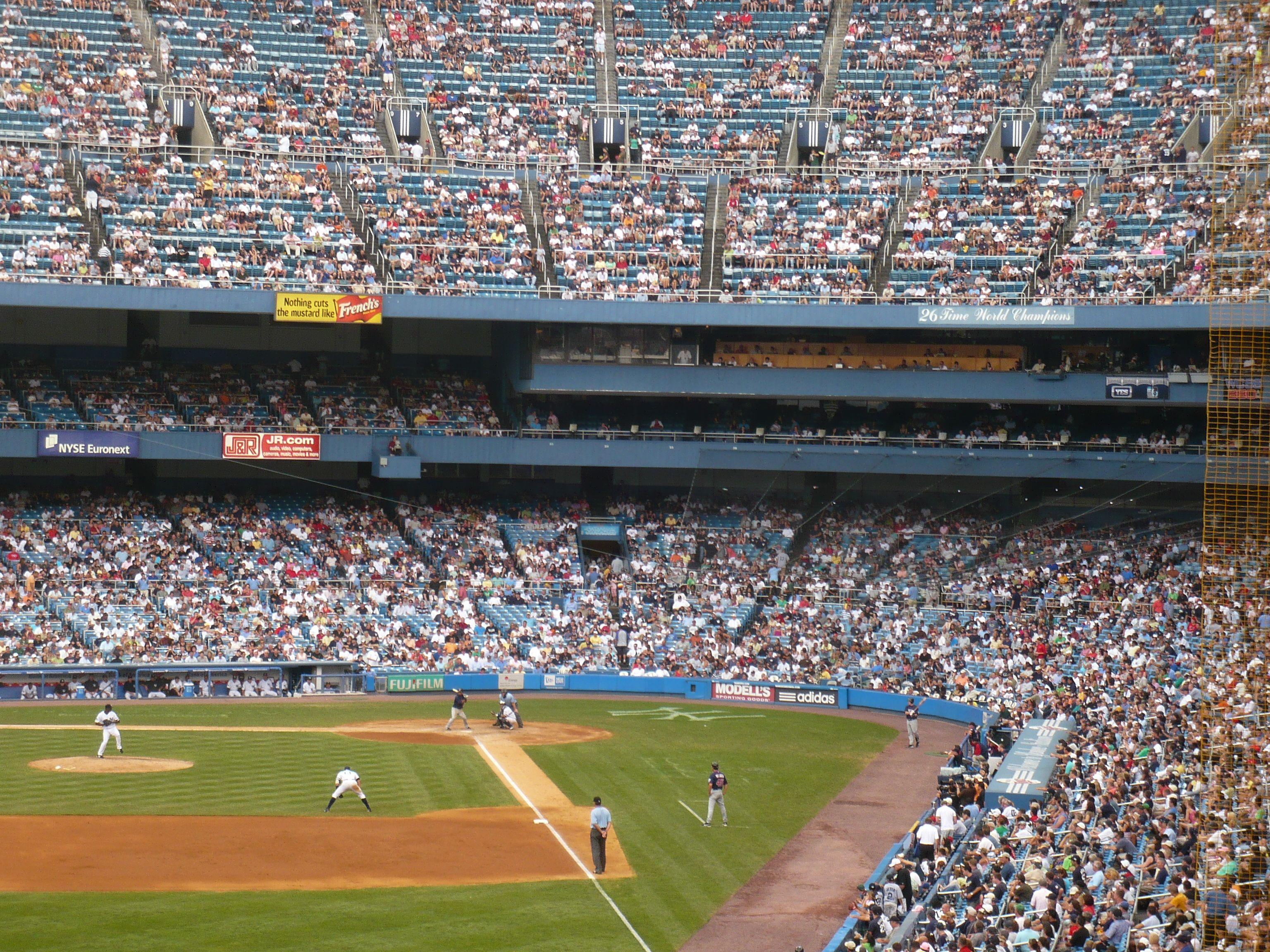 Old Yankee Stadium Yankee Stadium Stadium New York Yankees