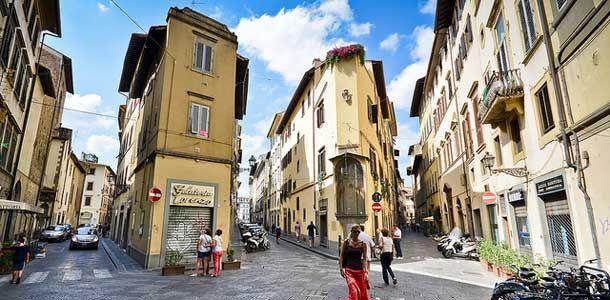 Kaupunkiloma Firenzessä.