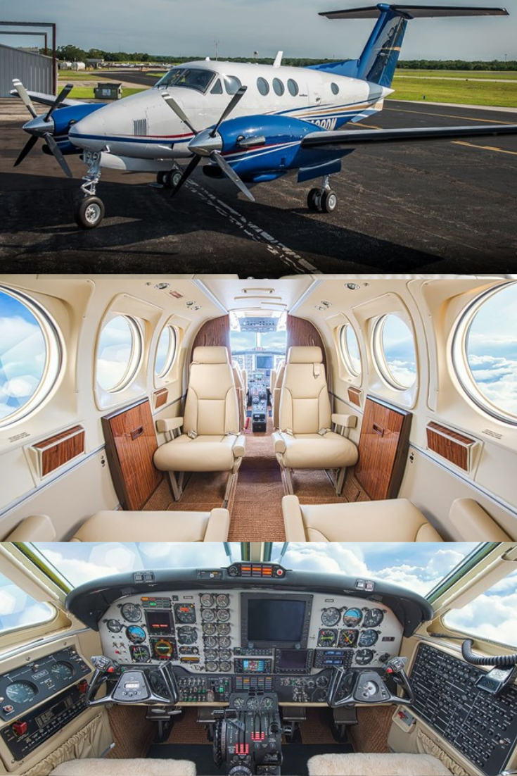 1981 King Air F90 For Sale! Luxury private jets