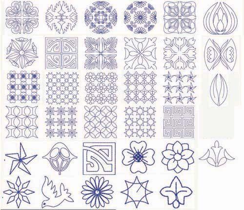 Sashiko Patterns Embroidery Pinterest Sashiko Embroidery Magnificent Sashiko Patterns