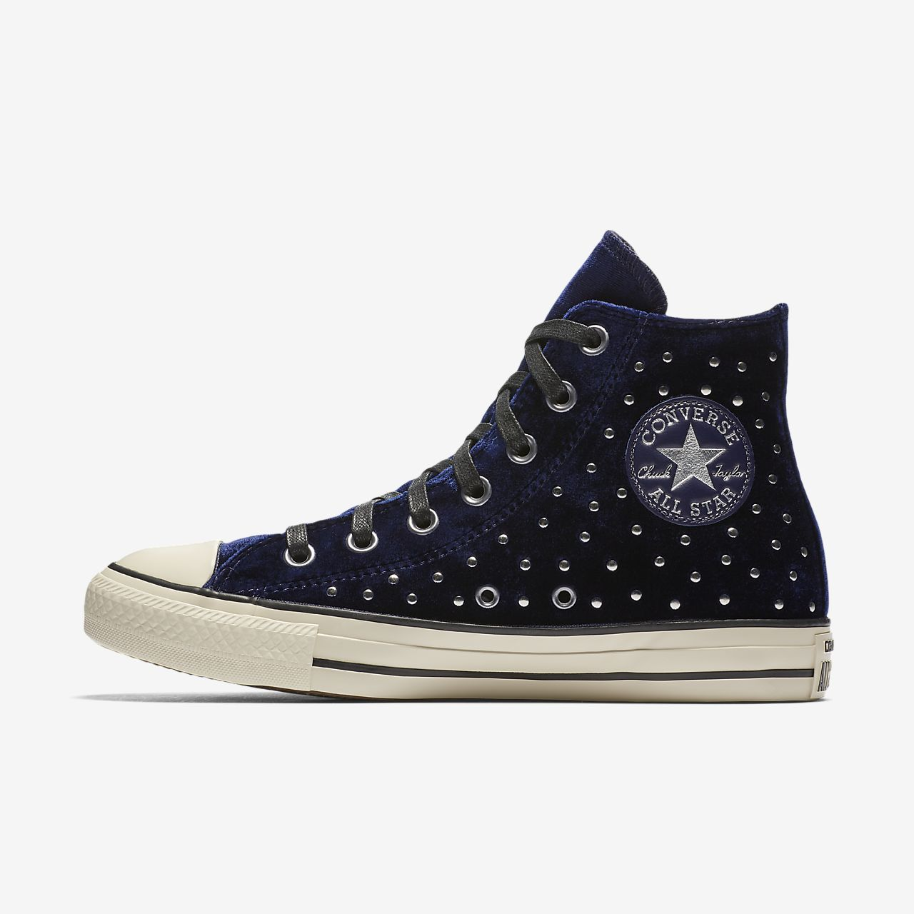 CT AS MID LUX VELVET STUDS - FOOTWEAR - High-tops & sneakers Converse SJ9gEi