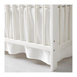 Babyzimmer Len len crib skirt white crib skirts nursery and neutral nurseries