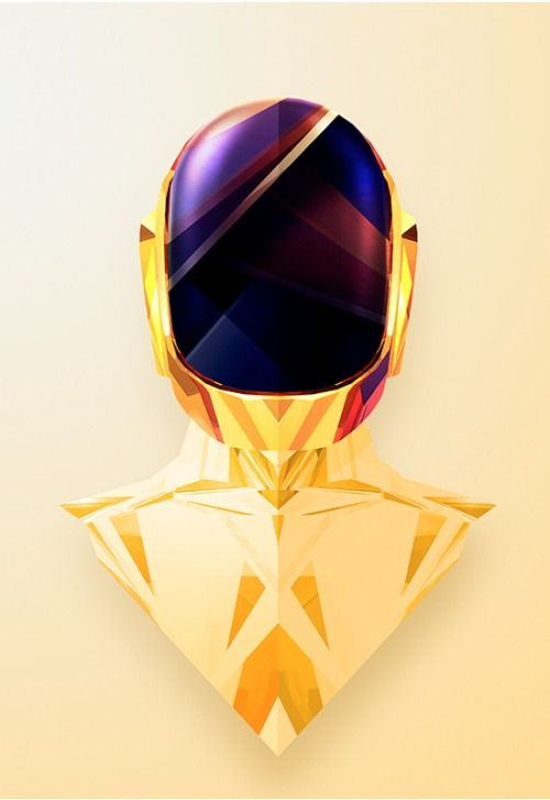 35 Outstanding Low Poly Art Illustrations | Daft Punk ...