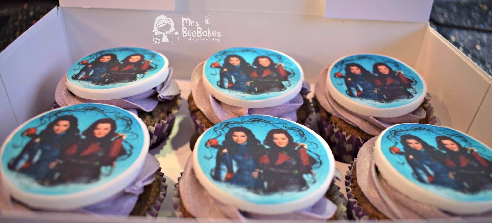 Descendants cupcakes cupcakes desserts little bites