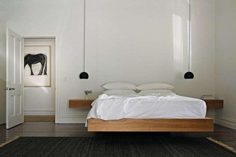 Lampade a sospensione per la camera da letto - Camera da letto minimal