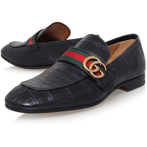 37370463b2a Gucci Revolt Crocodile Skin Loafers ( 2