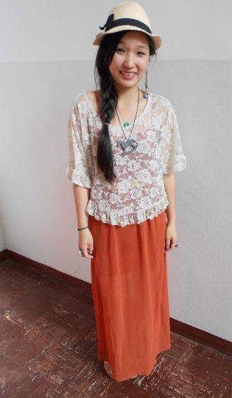 Looks On Campus Lily Oregon State University Fashion Apparel Design Mori Girl
