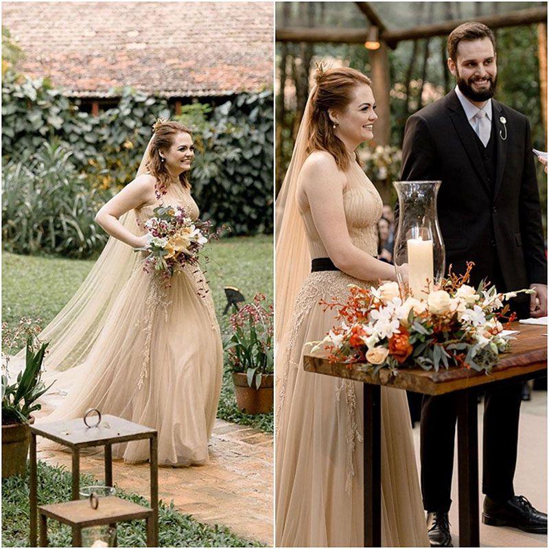 307b23e5057e Cerimônia de casamento no campo { Karol Pinheiro & Arthur ...