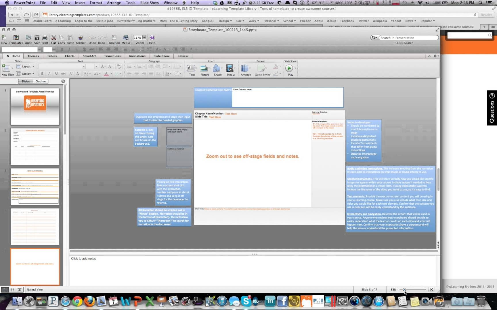 how to use the instructional design storyboard template uses, Modern powerpoint