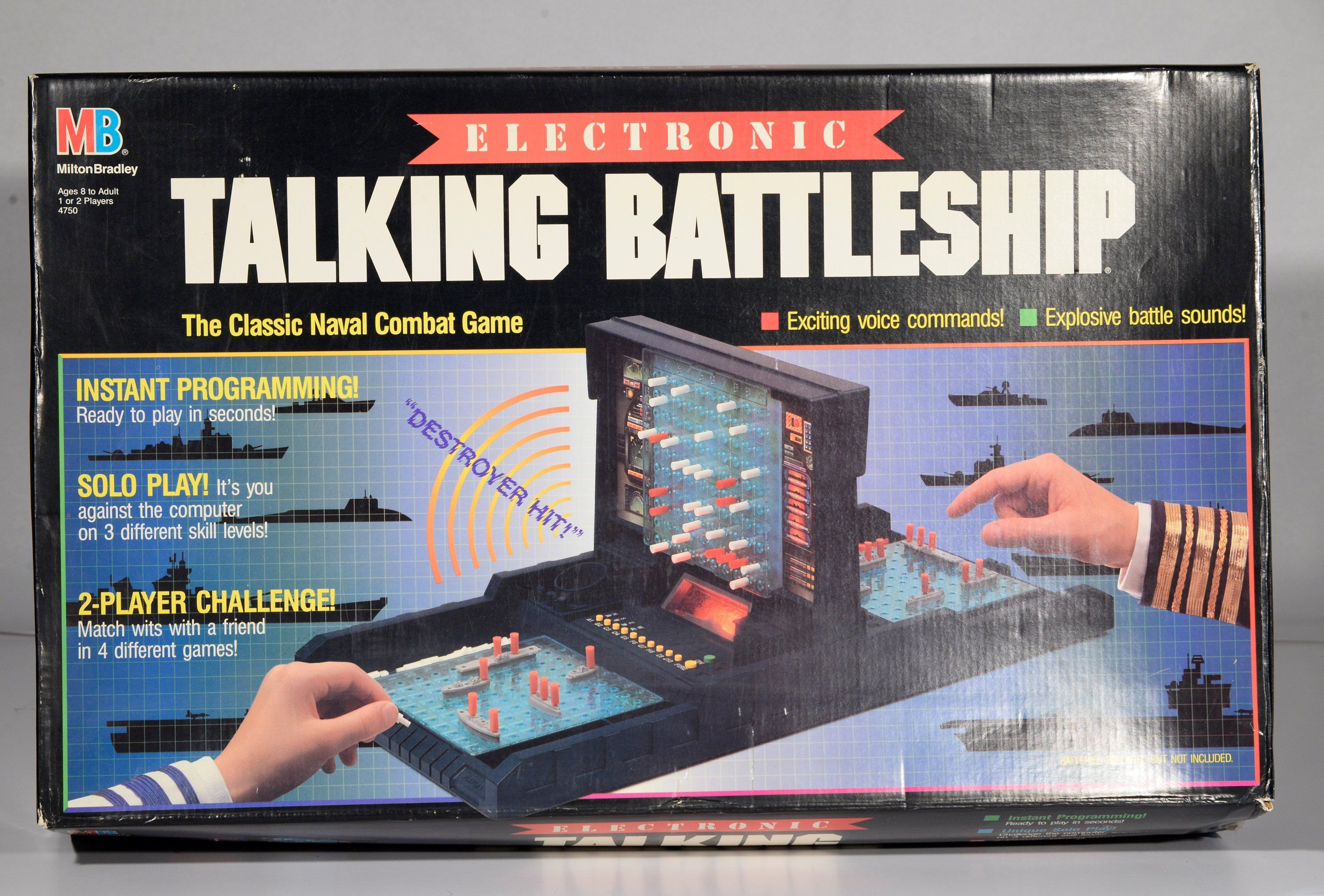 Battleship Game, War Ship Games, 1980s Board Game, War