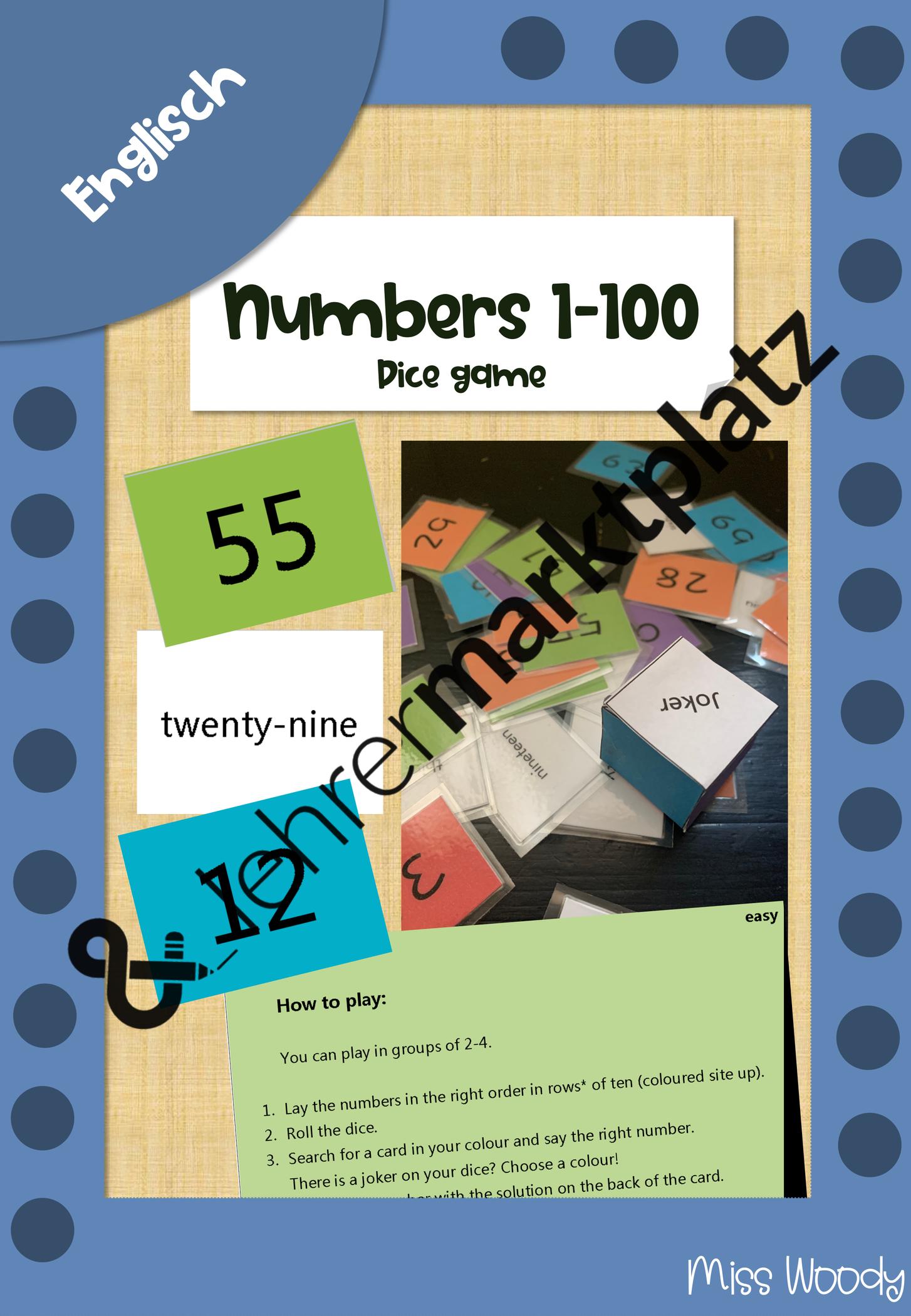 Englisch Zahlen Lernen Spiel