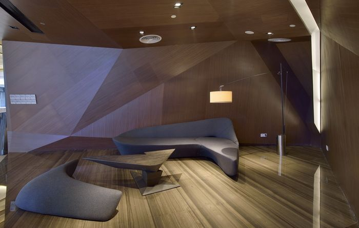 Times Bund Clubhouse, Shanghai, China by Kris Lin Interior Design