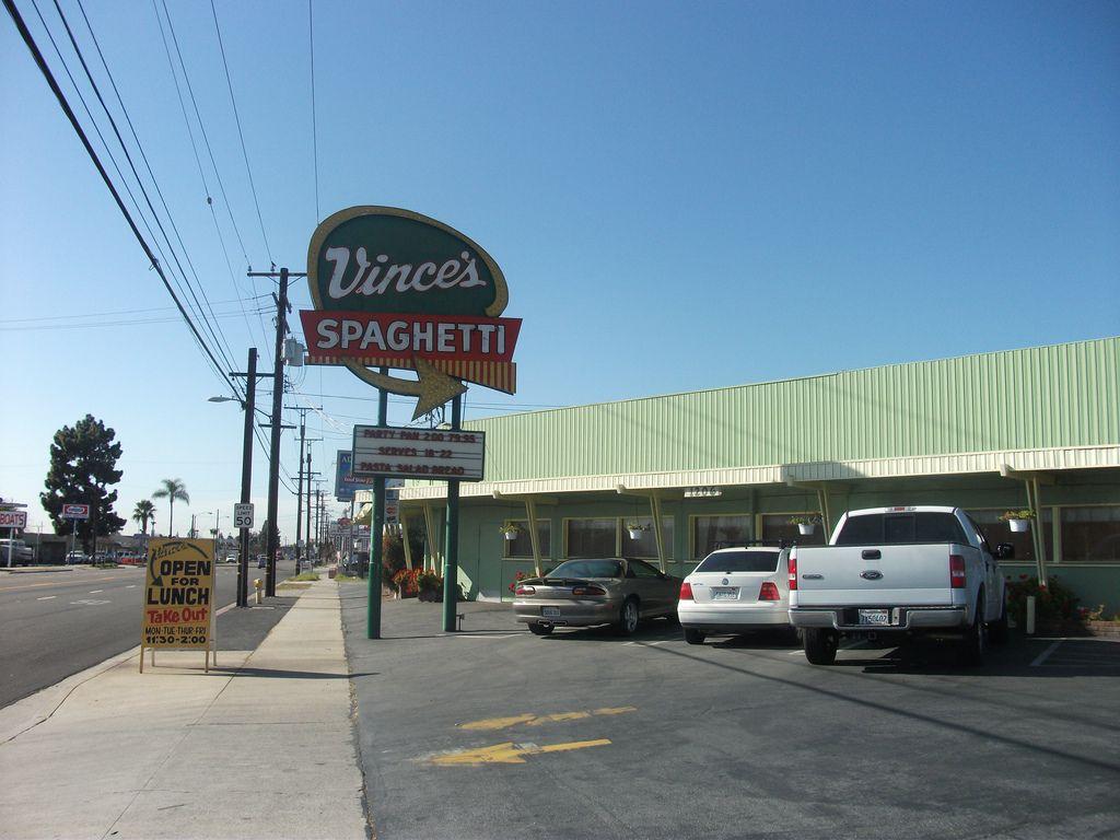 Vince\'s Spaghetti, Ontario, California | Ontario california, Ontario ...
