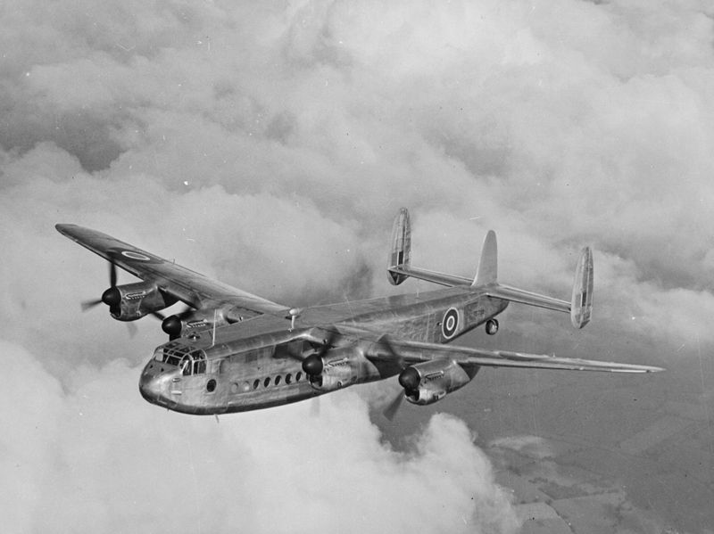 Avro York - Manufactured by Avro and incorporating the wings, tail, undercarriage and engines of the Lancaster bomber, the York was to prove a reliable military and civilian transport aircraft in war and peace.