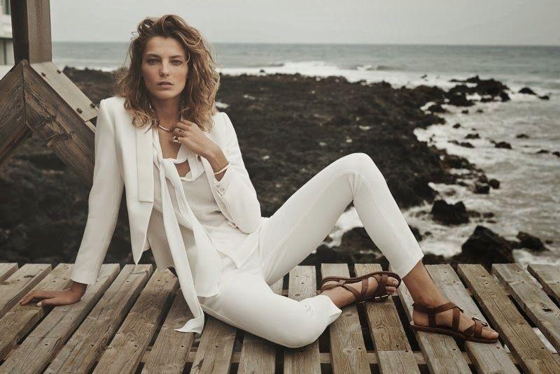 Daria Werbowy for Mango SS 2014