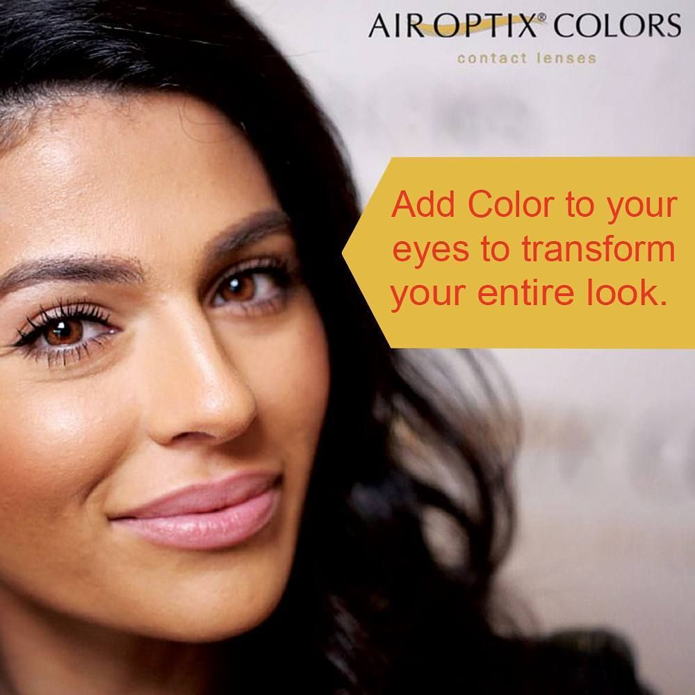 Try Air Optix Color Contact Lenses And Update Your Look Whether You Re After A Vibrant Contact Lenses Colored Contact Lenses Online Buy Contact Lenses Online