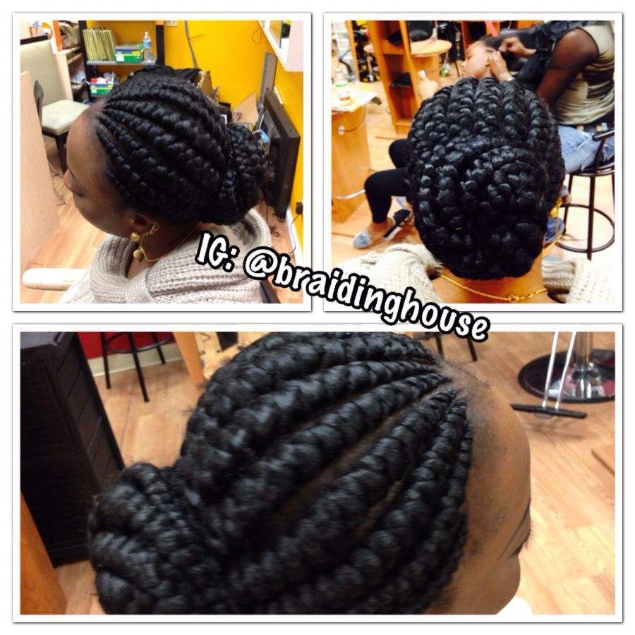 Jumbo Ghana Braids by the BH | Cornrows | Pinterest ...