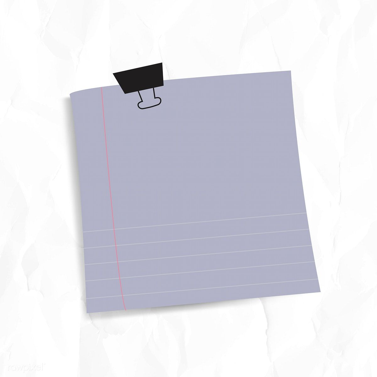 Download Premium Image Of Blank Lined Notepaper Set With