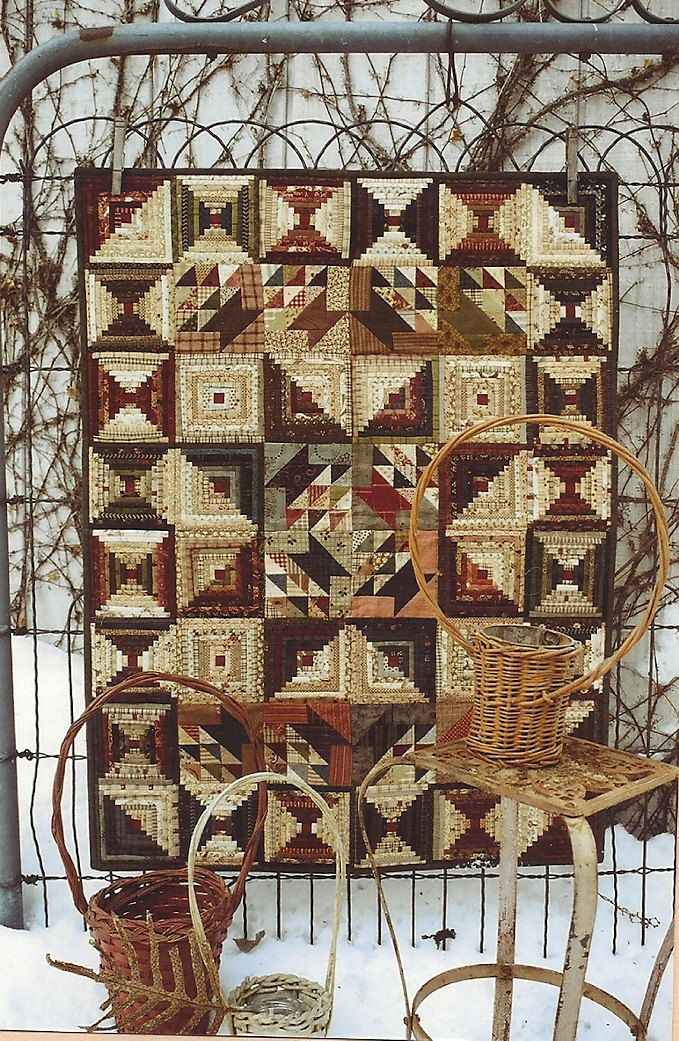Primitive Folk Art Wall Quilt Pattern: SMALL THINGS. $7.75, via ... : primitive quilting - Adamdwight.com