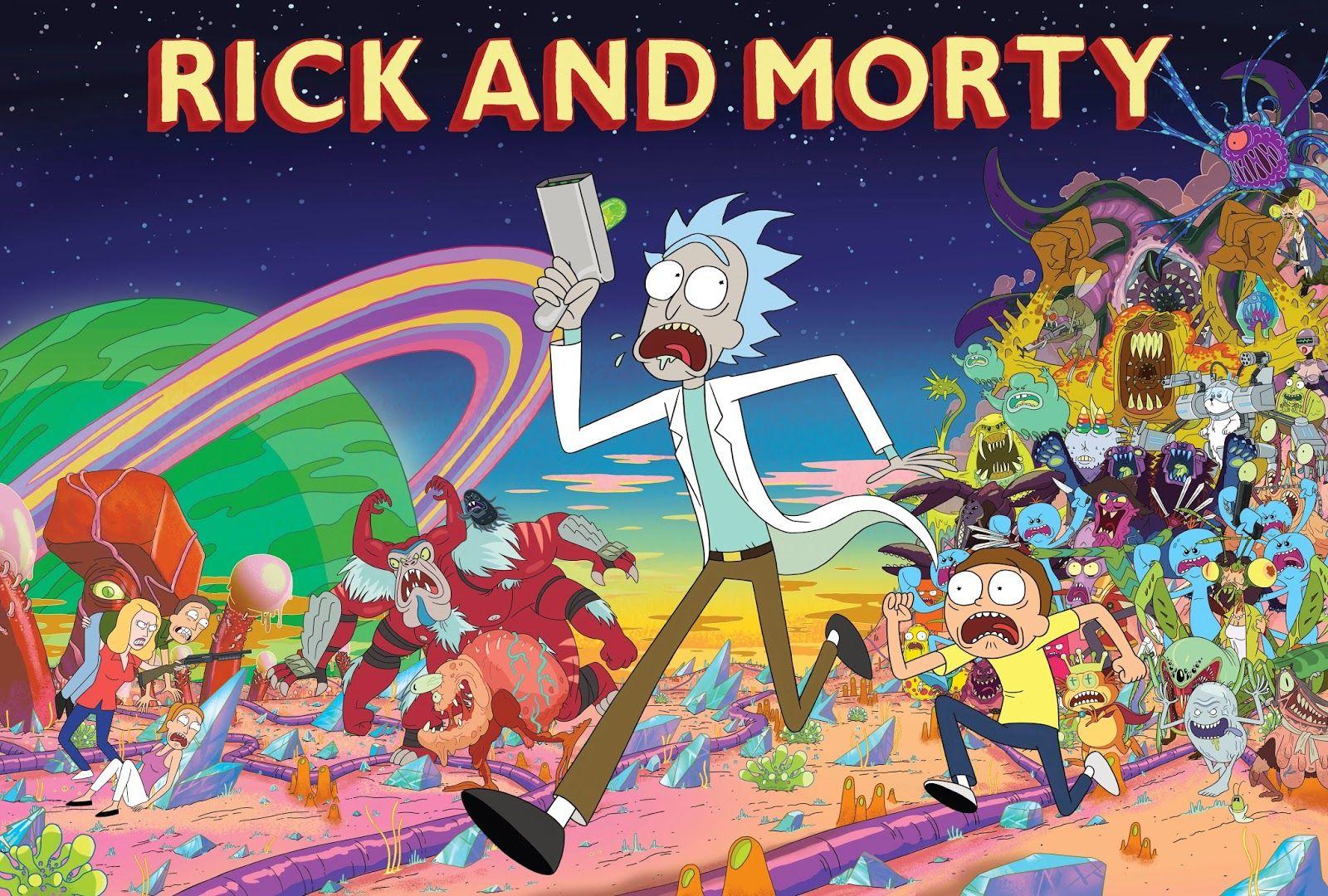 Рик и Морти / Rick and Morty / Сезон: 3 / Серии: 1 из 14 (Пит Мишелс, Брайан Ньютон, Джон Райс) [2017, США, Мультфильм, комедия, фантастика, BDRip 720p] VO (Сыендук) + Original Eng + Sub (Rus)