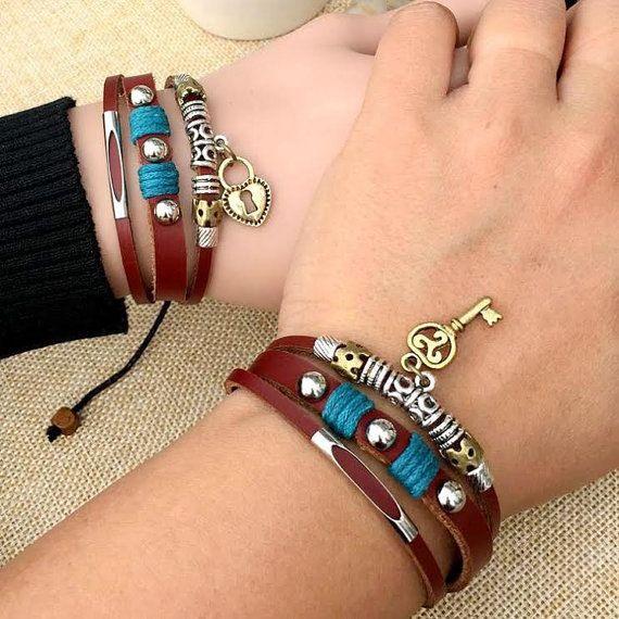 Pin on Couples Bracelets