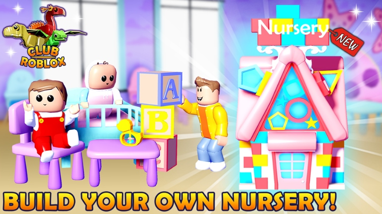 111) NURSERY HOUSE! Club Roblox - Roblox | Roblox, Games For Kids, Really Fun Games