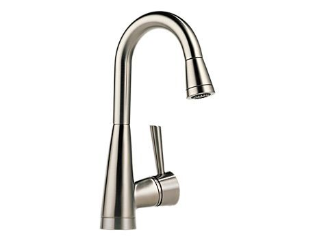 Single Handle Pull Down Bar/Prep Faucet With SoftTouch : : Venuto : Kitchen  : Brizo