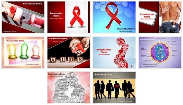 get  hiv  aids  powerpoint  design bundle  this hiv aids