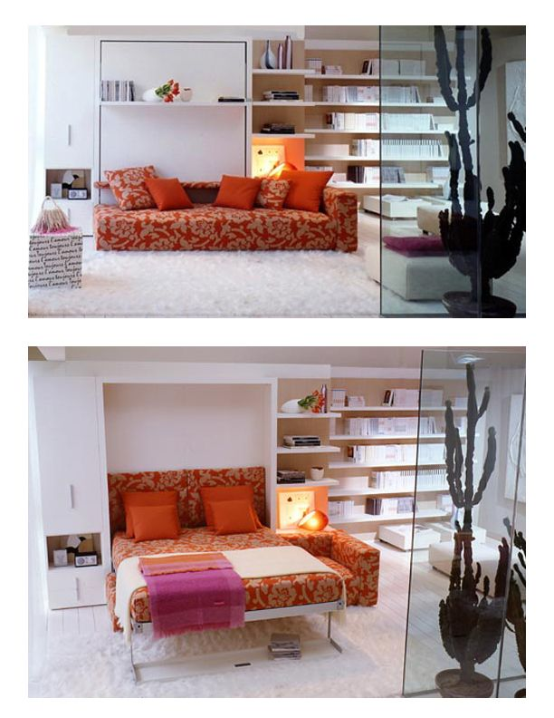 Wall Bed With Sofa Beds For Small Rooms Small Bedroom Furniture Modern Murphy Beds