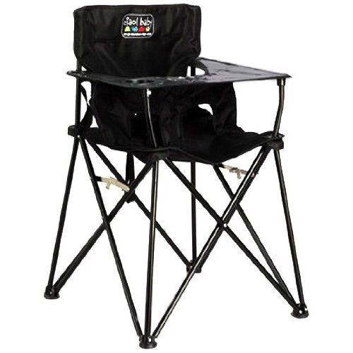 amazon: ciao! baby portable travel high chair, black. now this