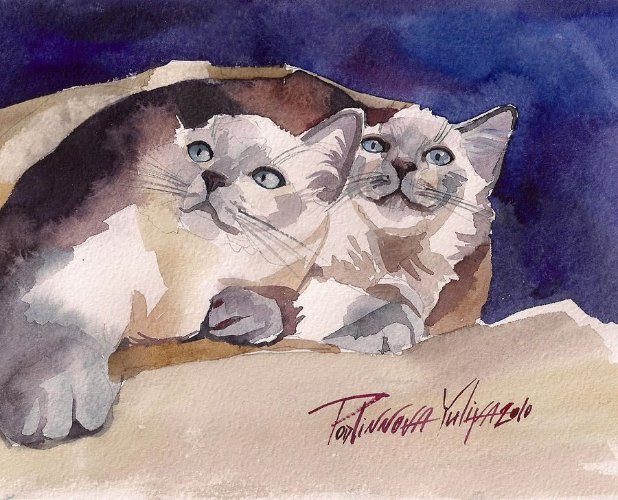 Cute Couple  by Yuliya Podlinnova