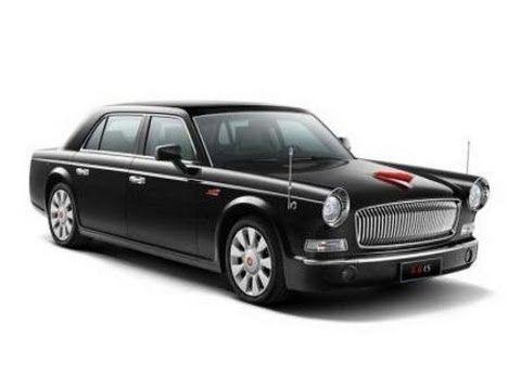 Hongqi Luxury Sedan Most Expensive Car Made In China