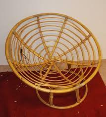 Bamboo Round Chair