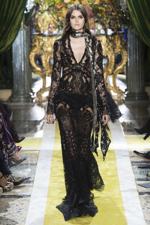 Roberto cavalli fashion show 9