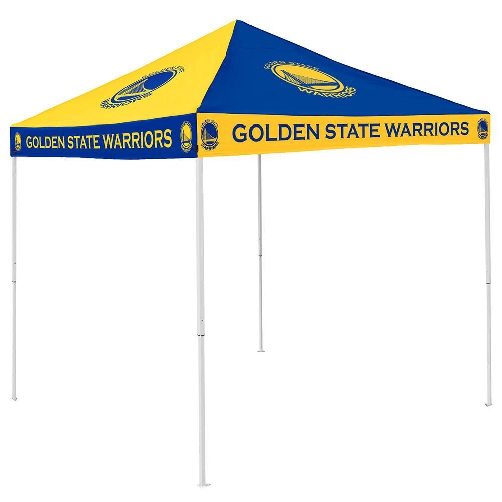 Golden State Warriors NBA 9u0027 x 9u0027 Checkerboard Color Pop-Up Tailgate Canopy  sc 1 st  Pinterest : tailgate canopies - memphite.com