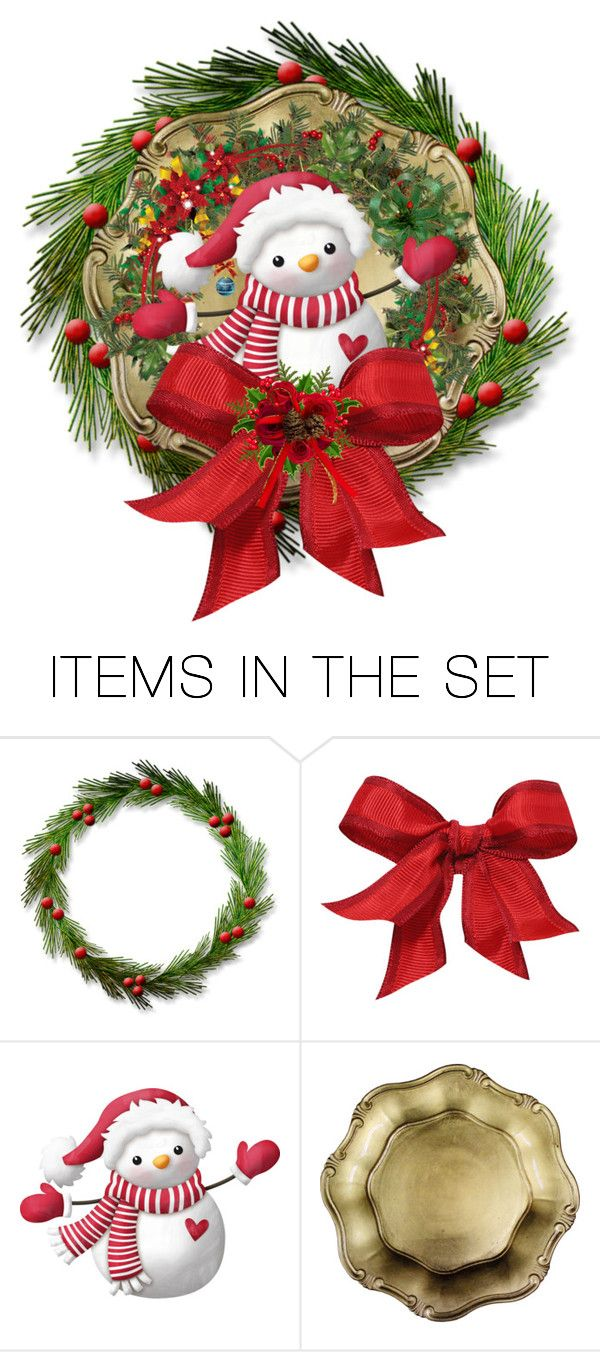 Christmas Wreath Plate\